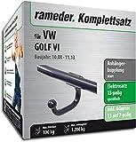 Rameder Komplettsatz, Anhängerkupplung starr + 13pol Elektrik für VW Golf VI (118261-07873-2)