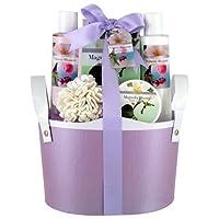Gloss! Coffret de Bain Flower Fleur de Cerisier et Magnolia 5 Pièces