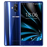 Telephone Portable Debloqué, DOOGEE MIX Lite Smartphone 4G (Écran: 5,2 Pouce - MT6737 Quad Core - 2Go + 16Go - 13MP+13MP Double Caméras - Empreinte Digitale - Double SIM - Android 7.0) Bleu