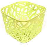 Absales Kitchen Utensils Storage Basket Vegetable Rack & Fruits Organiser Office Bin Table Organizer 4 colors (Green)