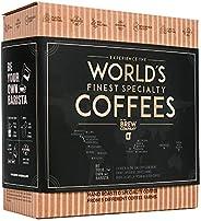 Koffie Assortiment Cadeau Voor Mannen & Vrouwen - 5 Unieke Koffiezakjes Set Met Gemalen Koffie Uit De Hele