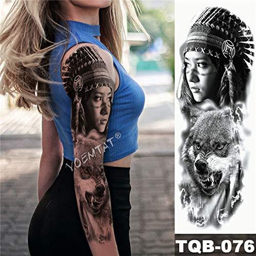 m-tattoo R Dragon Warrior Logo Wasserdicht Temporäre Tattoo Aufkleber Sieg Stadt Herren Alle Rose Totem Tartu (2 Erpackt) 10 ()