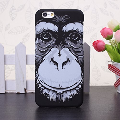 iPhone 5S Fall der Tiere, Muster Fall PC Hartschalen-Schutzhülle für iPhone 5s SE, 8, IPhone 6S Plus 1