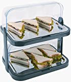 APS CB794 Double Decker Rolle Top Cool Display Tabletts -