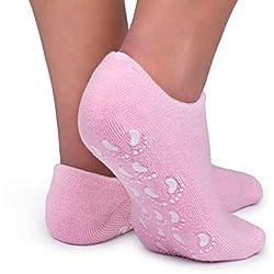Calcetines gel hidratante | Calcetines spa | Calcetines hidratantes en gel | Tratamiento cuidado de pies | Talla única