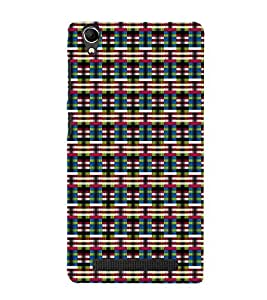 Fuson Designer Back Case Cover for Intex Aqua Power Plus :: Intex Aqua Power + (Colorful designer theme)
