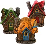 Fairy house incense burner by lisa parker