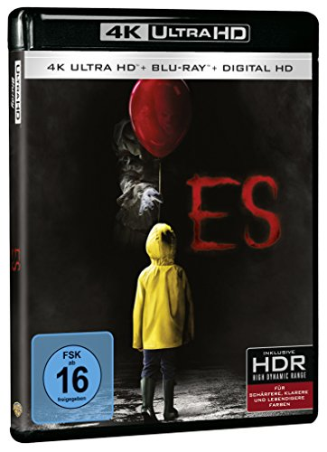 Stephen Kings Es (2017 – Teil 1) – Ultra HD Blu-ray [4k + Blu-ray Disc] - 2