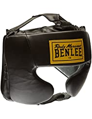 BENLEE Rocky Marciano Kopfschützer Mike - Casco de Boxeo, Color Negro, ...