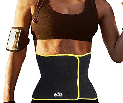 DODOING Hot Schweiß Body Shapers Neopren Taille Trimmer Gewichtsverlust Ab Gürtel für Männer Frauen Premium Magen Wrap und Abnehmen Bauch Taille Trainer Gürtel Korsett