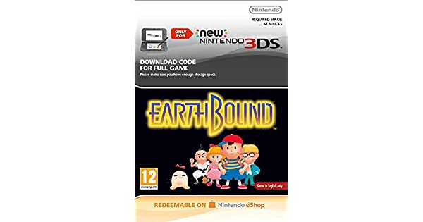 Earthbound SNES [3DS Download Code]: Amazon co uk: PC