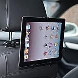 """subtel® Soporte tablets orientable en 360° para coche en el asiento trasero / en el parabrisas 7""""-11"""" (iPad 1 2 3 4 Air 1 2 mini, Samsung Galaxy Tab Note 8.0 8.4 9.7 10.1 7.0, Google Nexus 7 9 10)"""