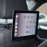 subtel® KFZ Auto 360° Halterung für die Kopfstütze für Tablets 7 - 11 Zoll Rücksitz Halter (z.B. iPad 1 2 3 4 iPad Air 1 2 mini, Samsung Galaxy Tab Note 8.0 8.4 9.7 10.1 7.0, Google Nexus 7 10, Odys, Asus Memo Pad, Acer Iconia Tab)