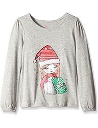 The Children's Place Little Girls' Christmas Long Sleeve Knit