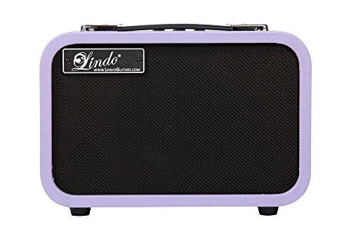 Lindo AGV-10 de la vendimia acústica / electro-acústica 10W amplificador de guitarra - púrpura retro