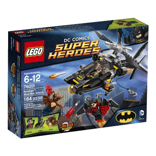 LEGO HEROES DC BATMAN EL ATAQUE DE MAN-BAT (Superheroes Batman Lego Dc)