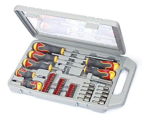 TrendLine Werkzeug-Satz 45-teilig Schraubenzieher Werkzeugkoffer