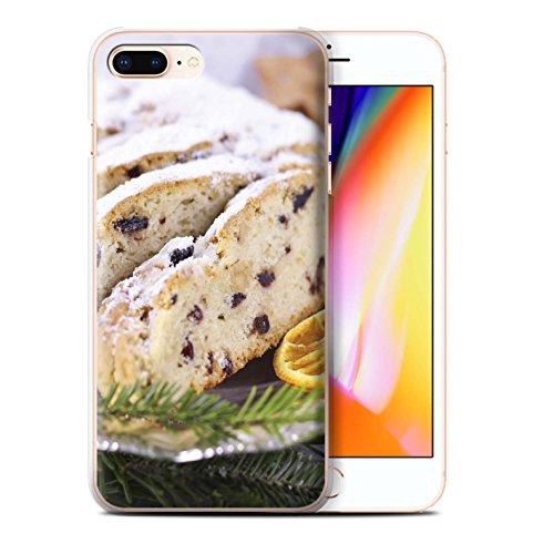 Stuff4 Hülle / Case für Apple iPhone 8 Plus / Kekse/Plätzchen Muster / Weihnachten Essen Kollektion Obstkuchen