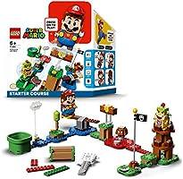 LEGO71360SuperMarioAbenteuermitMario–Starterset SpielzeugInteraktives Figuren- und Bauspiel