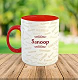 "FurnishFantasyâ""¢ Ceramic Mug - My name is Sanoop"