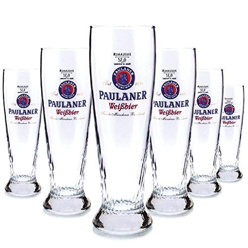 6-x-brand-paulaner-03-litre-glass-glass-beautiful-lake-beer-glass