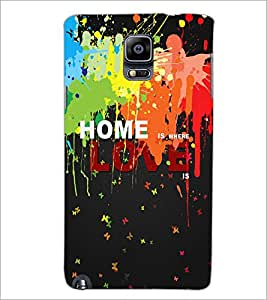 PrintDhaba Quote D-3451 Back Case Cover for SAMSUNG GALAXY NOTE 3 (Multi-Coloured)