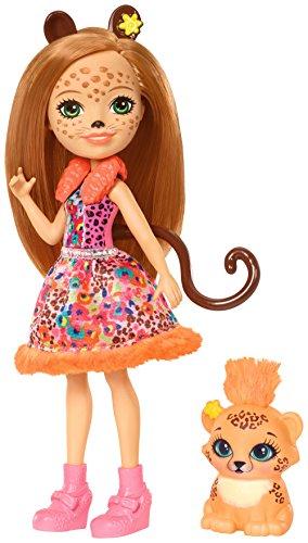 Enchantimals - Muñeca Cheris Cheetah (Mattel FJJ20)