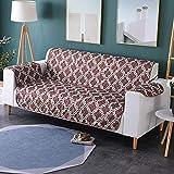Zwei Sitzer - Wasserdicht Gesteppte Sofabezüge - Sessel Möbelschutz Für Hunde Haustiere Kinder Sofabezug,F