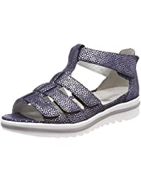 c70a35723ab8 Waldläufer Women s Hakura Gladiator Sandals