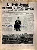 PETIT JOURNAL MILITAIRE