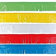 Pack de 5 flecos de plástico de 25 metros