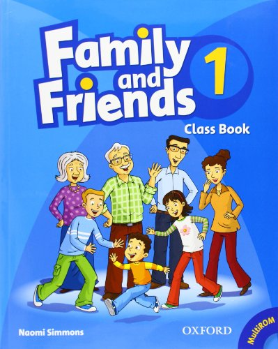 Family and Friends: 1: Class Book and MultiROM Pack