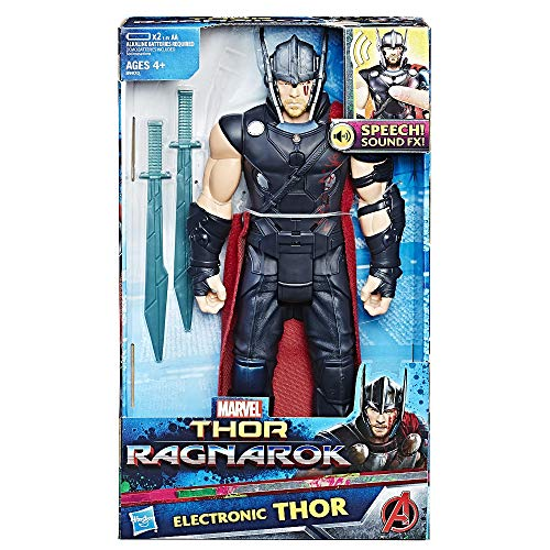 Hasbro Avengers B9970EW0 Elektronischer Titan Hero Thor, Actionfigur