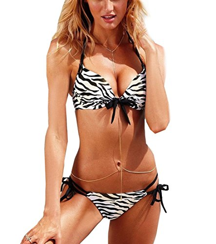 size-l-asia-size-sexy-women-girl-lady-push-up-padded-two-piece-zebra-black-white-halter-neck-swimwea