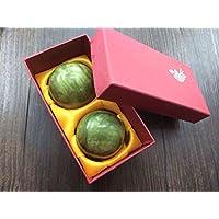 QTZS Natur Jade Dekompression Handball Chinesische Tradition Gesundheitsball 50mm480g preisvergleich bei billige-tabletten.eu