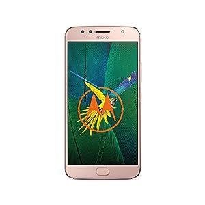 Motorola Moto G5s Plus Smartphone 13,97 cm (5,5 Zoll), (13MP Kamera, 3GB RAM/32GB, Android) Blush Gold