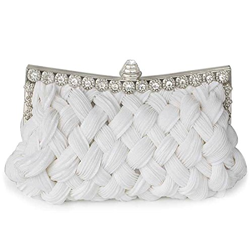 SSMK Evening Bag, Poschette giorno donna White