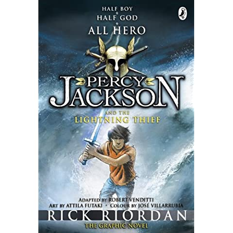 Percy Jackson and the Lightning Thief: The Graphic Novel (Book 1) (Percy Jackson and the Olympians: The Graphic