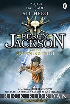 Percy Jackson and the Lightning Thief: The Graphic Novel (Book 1) (Percy Jackson and the Olympians: The Graphic Novel) by [Riordan, Rick]