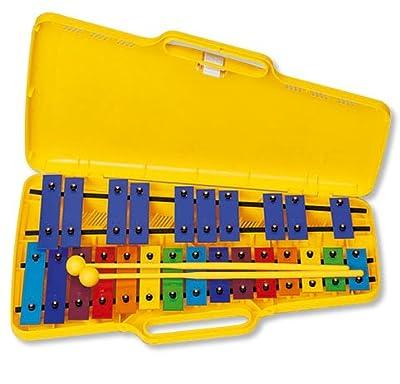 CARRILLON Ángel (AX25N3) Cromatico (25 Teclas) De Colores (Xilófono en maletín) por ÁNGEL