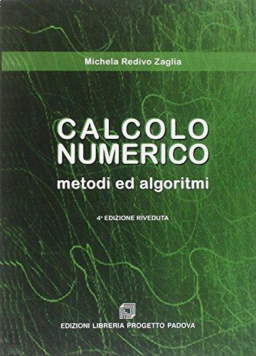 Calcolo numerico. Metodi e algoritmi