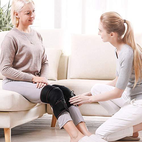 Kniebandage [er Set mit Klettverschluss] Knee Wraps Profi Knie Bandagen für Lymphdrainage Ger?t Beine und Arm, Luftdruckmassage