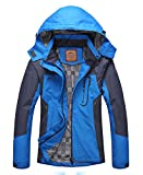 Wasserdichte Outdoorjacke Damen Atmungsaktiv - Diamond Candy Hoodie Funktionsjacke Winddichte...