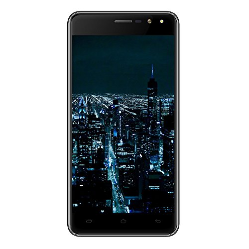 Preisvergleich Produktbild VKworld F2 3G Handys Touch-Display Smartphone Android 6.0 16GB ROM 5.0 Zoll Handy Dual SIM (Schwarz)