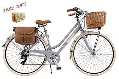 Via Veneto By Canellini Fahrrad Rad Citybike CTB Frau Vintage Retro Dolce Vita Aluminium Grey Grau