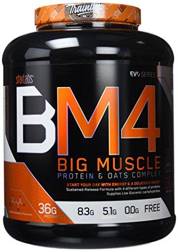 Starlabs Nutrition BM4 Big Muscle Suplemento Nutricional Sabor Caffè Latte - 2000 gr