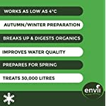 Envii Winter Pond Treatment – Winter Pond Treatment Reduces Sludge and Improves Water Clarity – Treats Up To 45,000… 6
