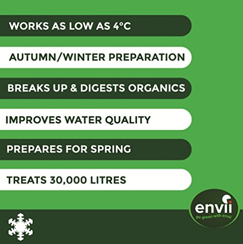 Envii Winter Pond Treatment – Winter Pond Treatment Reduces Sludge and Improves Water Clarity – Treats Up To 45,000… 3