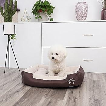 Songmics XL Panier Lit Pour Chien Dog Bed Coussin Matelas 75 x 58 cm PGW03Z