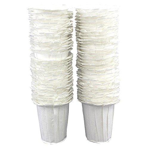 Leegoal (TM) 100Einweg Papier Filter Cups kompatibel mit Keurig k-cup Kaffee Maschinen